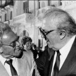Elio Morri e Federico Fellini