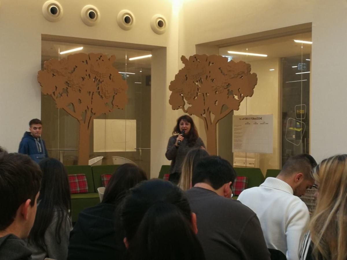 Foto1 per prima primo incontro secondo anno presentazione progetto ecomuseo sonia fabbrocino