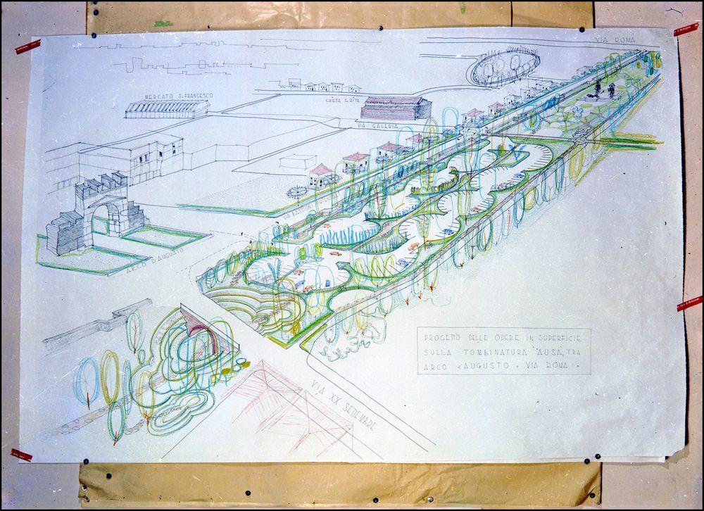 progetto del parco 1963